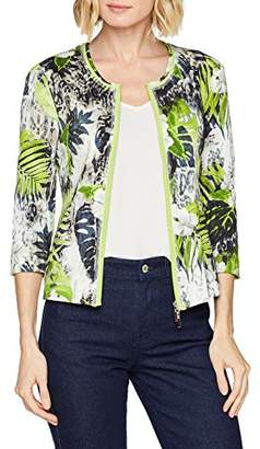 Betty Barclay Women's 4752/0731 Jacket, (Nature-Green 58)
