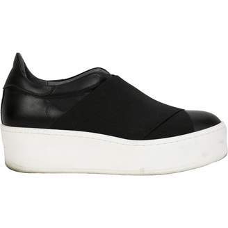 Barneys New York Leather trainers