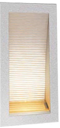 Linea Recessed 170 LED Wall Light in Silver
