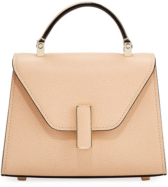 Valextra Saffiano Iside Micro Top Handle Bag
