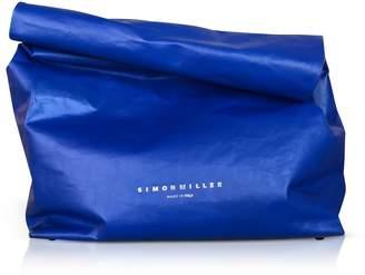 Simon Miller Xl Cobalt Leather 30cm Lunch Bag