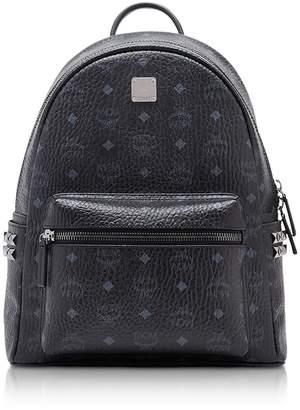 MCM Black Small-medium Stark Backpack