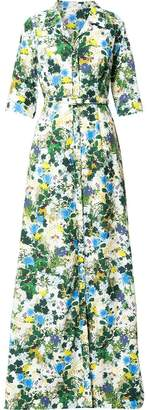 Erdem floral print maxi dress