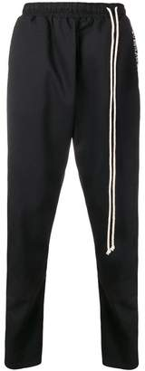 Alchemy dropped crotch track trousers