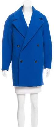 Joseph Twill Double-Breasted Coat