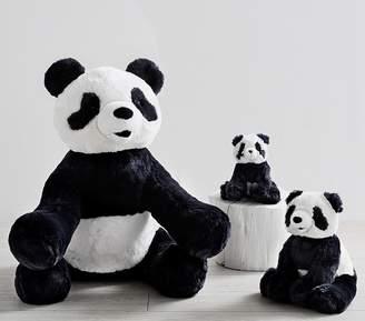 Pottery Barn Kids Small Faux-Fur Plush Panda