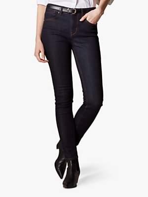 Karen Millen Signature Skinny Jeans, Dark Denim