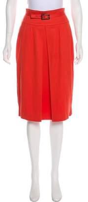 Just Cavalli Knee-Length Textured Skirt