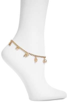Women's Topshop Charm Anklet $14 thestylecure.com