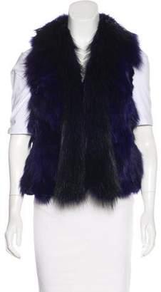 Truth and Pride Fox Fur Vest