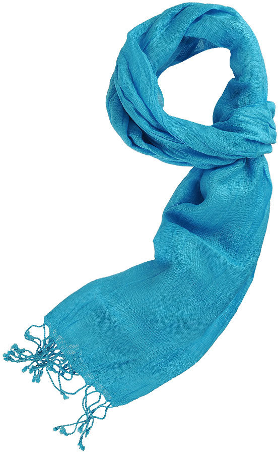 Solid Woven Fringe Scarf