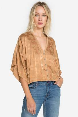 dad852d2d11 Button Satin Shirt - ShopStyle
