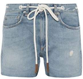 Rag & Bone Rocklyn Distressed Denim Shorts