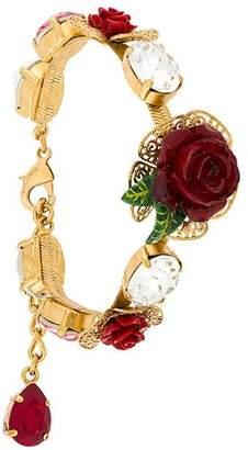 Dolce & Gabbana crystal rose bracelet
