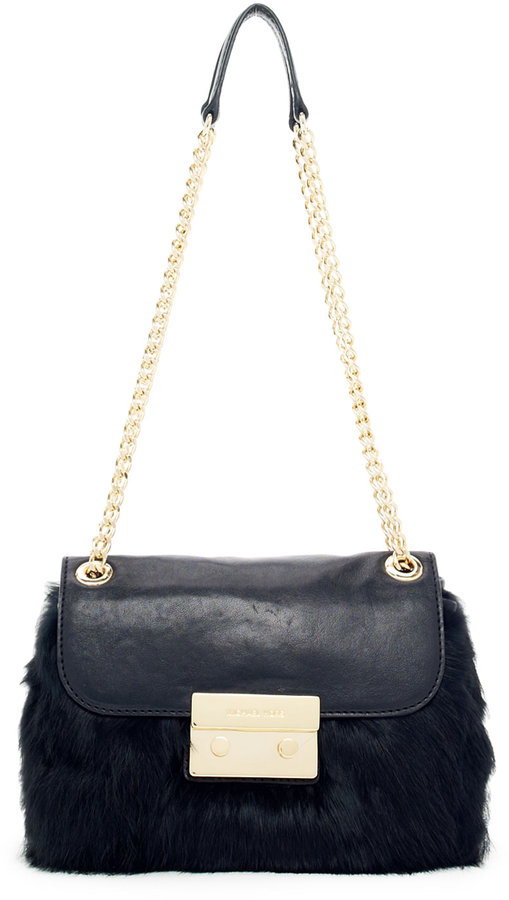 MICHAEL Michael Kors  Flurry Small Shoulder Flap Bag
