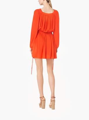 Michael Kors Silk-Georgette Poet Dress