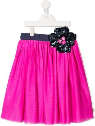 Little Marc Jacobs sequin flower skirt