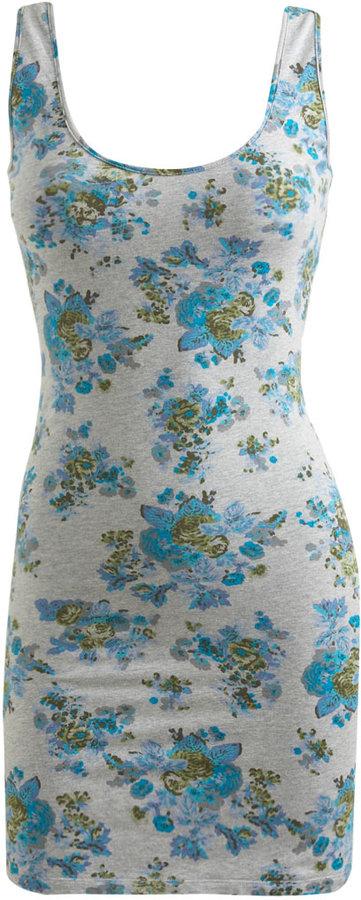 Bow Back Floral Dress
