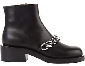 Givenchy Women's Laura Chain-Link Ankle Boots - Black