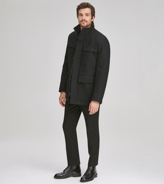Andrew Marc BRANTLEY 4 POCKET WOOL COAT
