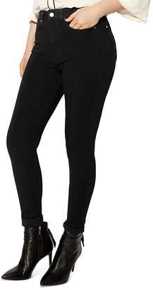 Karen Millen Mid-Rise Skinny Jeans in Black