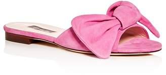 Sarah Jessica Parker Women's Finn Bow Slide Sandals