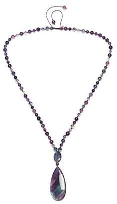 Lola Rose Pansy Rainbow Fluorite Necklace of Length 50cm