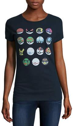 Freeze Pokemon Graphic T-Shirt- Juniors