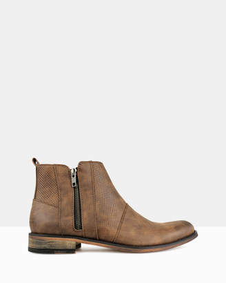 betts Base Zip-Up Ankle Boots