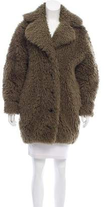 Kenzo Faux Shearling Coat