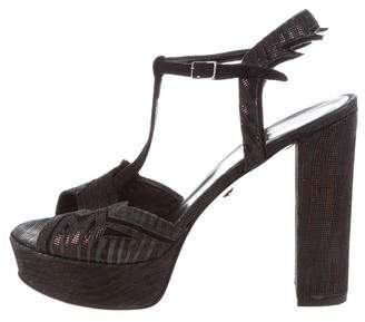 Just Cavalli High-Heel Platform Sandals