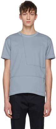 Wooyoungmi Blue Geometric T-Shirt