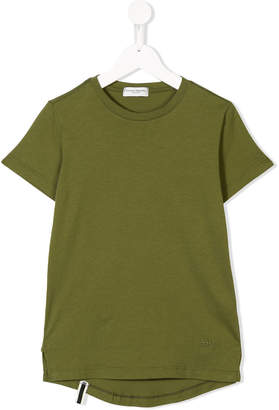 Paolo Pecora Kids high-low hem T-shirt