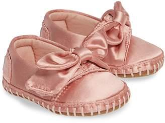 Toms Bow Alpargata Crib Shoe