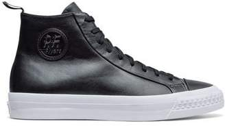 Todd Snyder + PF Flyers PF Flyers Black Leather Rambler High Top