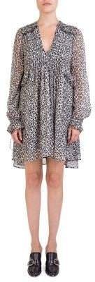 The Kooples Leopard-Print Shift Dress