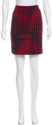 Vionnet Printed Virgin Wool Skirt
