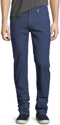 Bugatchi Five-Pocket Straight-Leg Jeans