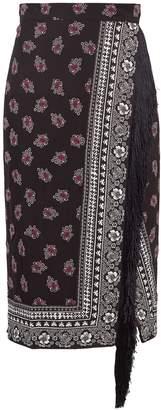 Altuzarra Jude scarf-print stretch-cady midi skirt