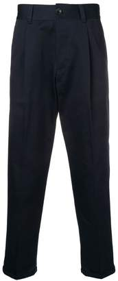Pt01 tailored crop trousers