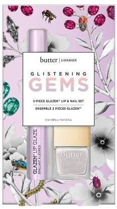 Butter London Glistening Gems Glazen Lip Gloss & Nail Lacquer 2-Piece Set