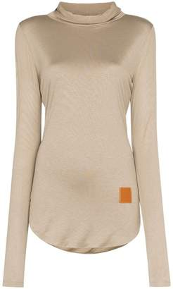 Loewe roll-neck stretch-jersey top