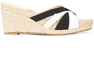 Stubbs & Wootton striped Kelly sandals