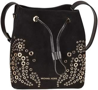 Michael Kors Cary Small Embellished Bucket Bag