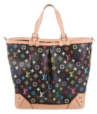 Louis Vuitton Multicolore Sharleen MM Black Multicolore Sharleen MM