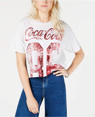 True Vintage Cotton Coca-Cola Cropped T-Shirt