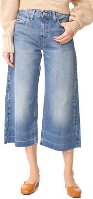 Levi's Denim Culottes $98 thestylecure.com