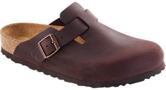 Birkenstock Boston Soft Footbed Leather Narrow Clog - Women's