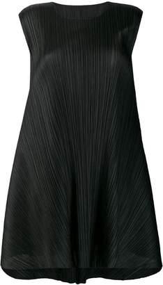 Pleats Please Issey Miyake Luster tunic dress