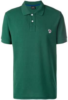 Paul Smith logo short-sleeve polo top